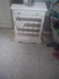 Wine rack cabinet unit