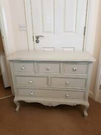 Fabulous Grey Multi Chest Of Drawers Brand New