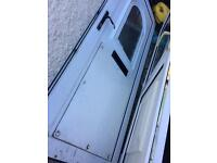 Pvc door would suit shed garage ect free local delivery if required