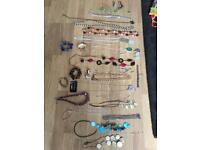 44 items of costume jewellery