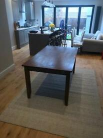 Wooden dining table Tooting
