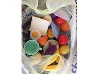 FREE plastic toy food