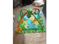 Fisher Price Musical Jungle Gym Rainforest Play Mat