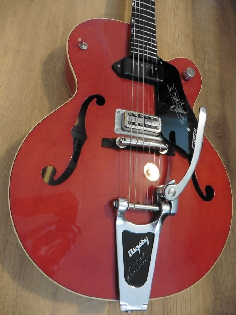 Gretsch G6119-1959 Chet Atkins reissue. Trade for Johnny Marr Jaguar or  other.