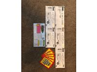 Carfest North Tickets -Sat 28th July Family 2 adults 2 Children (6-16) 1 child (0-5)
