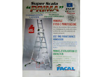 "Combination Ladder - commercial - 3.5m Super Acala ""Prima"""