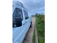 Mercedes Sprinter 416 LWB 2.7litre, downgraded to 3.5Tons
