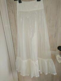 Wedding gown petticoat