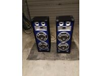 800 Watt speakers, AMP and cables ***PRICE DROP***