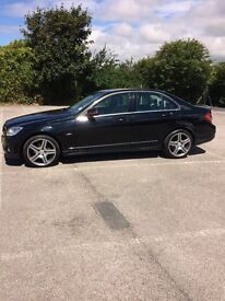 Mercedes c220 elegance, full service history, one previous owner, AMG,