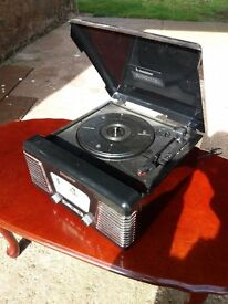 Record player/radio combo (reproduction)