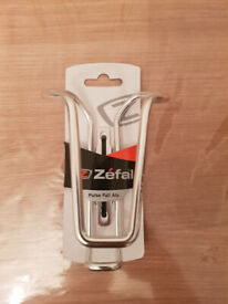 Zefal Pulse Full Aluminium Bottle Cage - Silver Brand New