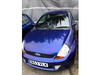 Ford Ka Sport 1600cc -LOW MILAGE- QUICK SALE