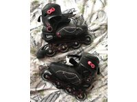 OXELO In-line Skates & Helmet Bundle