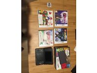 Used 'New Nintendo 3DS' and 5 games!
