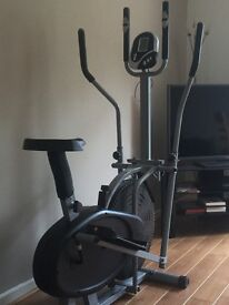 Cross trainer bike