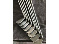 JOHN LETTERS SET OF 8 IRONS £40!!!!!! dropped to £25 to get them gone