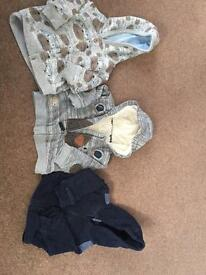 3x boys jackets next and mothercare 3-6m