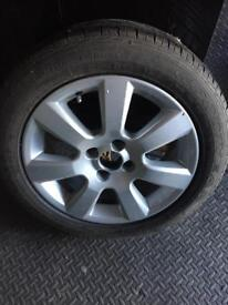 Alloy wheel with very good 195 55 16 Goodyear tyre