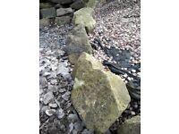 Large stones for rockery