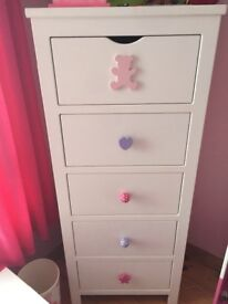 Beautiful pieces of a child bedroom furniture