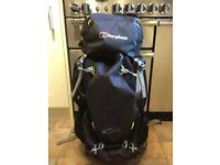 Berghuas trailhead 60/65 backpack in carbon