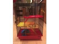 Week-end cage for russian hamster