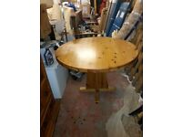 PINE KITCHEN OR DINING TABLE