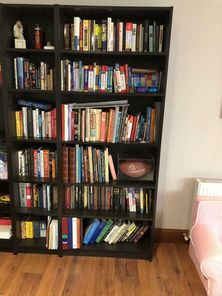 Ikea Billy Bookcase Six Shelves Black Brown In Aberdeen Gumtree