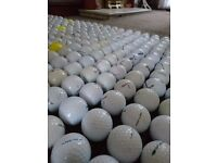 1,298 Used Golf Balls in Very Good & Clean Condition