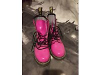 Dr Martens Pink boots