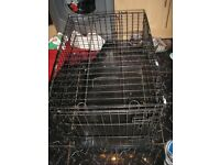 Medium Dog Cage 77cm x 55cm x 60cm
