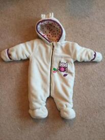 Baby winter suit 3-6 months