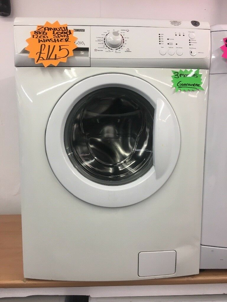 ZANUSSI 8KG BASIC WASHING MACHINE