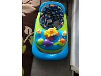 Baby walker from mother care. Very good condition Multi positions for height