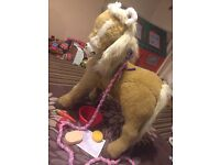 FURREAL FRIENDS BUTTERSCOTCH PONY INTERACTIVE LIFE SIZE RIDE ON
