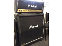 Marshall JCM 900 Dual Reverb 100 Watt Valve Head and 4x12 Speaker Cabinet