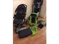 Jane slalom pro pushchair and travel system