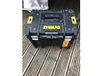 Dewalt t stack storage tool box