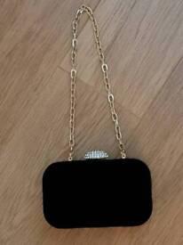 Black Velvet Evening Bag Almost New REDUCED