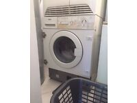 Bosch integrated white washing machine in excellent condition working great