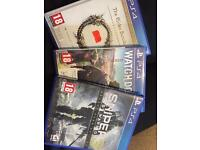 3 ps4 games for sale and swap