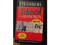 School thesaurus book