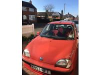 Fiat Seicento, Red, 1100cc, low mileage