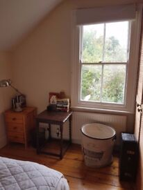 Double bedroom fully furnished sharing with 2 women & 2 cats. 12 months min. £611 pcm bills incl.