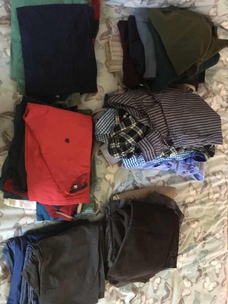Men's clothes bundle XL