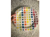 Brand new 3 piece large plastic plates - pickup in Camden