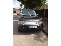 2002 Range Rover Vogue For Sale