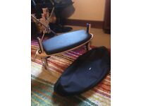 Fully adjustable 'kindseat' meditation stool with carry case
