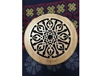 Lutehole cover for guitar